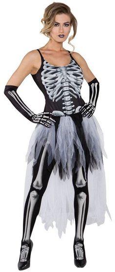 Sexy Skeleton Adult Medium