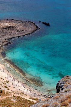 Scene from the fortress on top of Gramvousa off the coast of the Greek island of Crete By Peace Correspondent via Flickr