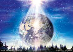 """""""Luminous Earth""""  (art;daniel.b.holman)"""