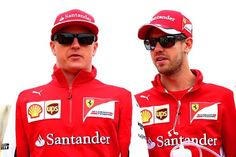 """Vettel:""""Please don't F#%K UP this weekend Kimi!, I don't want Valtteri as a team mate next season!"""""""