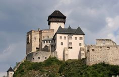 Castle Trencin in Slovakia. My relatives are native to this mountainous region.