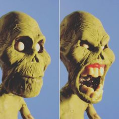 Zombi  reaction !!! #pablollorens #animation #picoftheday #instalike #instagood #instago #instacool #starwars #potens #lol #funny #toy #art #pixar #happy #plastilina #cool #puppet #fantasy #movie #youtube #aardman #geek #nerd  #cartoon #clay #claymation #stopmotion #awesome #fun ★ Find more at http://www.pinterest.com/competing