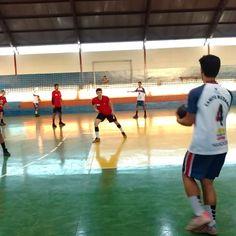 Sarandi x Campo Mourão na macrorregional dos Jogos Escolares do Paraná - Roncador - Blog do Orlando Gonzalez