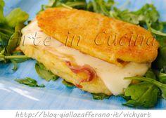 Cordon bleu di patate con provola e prosciutto vickyart rate in cucina