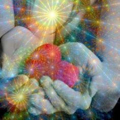 The heart of Reiki - Divinity flowing though our hands and hearts for one another.