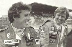 Mario Andretti and Ronnie Peterson.