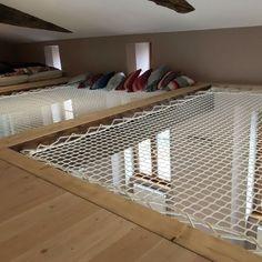 Filet d'habitation intérieur - Famous Last Words Hammock Netting, Hammock Bed, Indoor Hammock, My New Room, Home Interior Design, Future House, Diy Home Decor, House Plans, Living Spaces