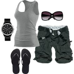 My favorite basics - love this outfit and it works for hiking if you change the shoe