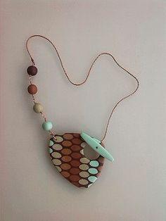 Back filled toggle pendant | by Dev'Art60