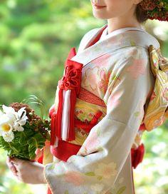Sakura Print Bridal Furisode
