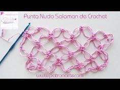 Punto Nudo Solomon de Crochet