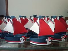 Manualidades Crafts tutorials IDEAS.: Foami and paper boats