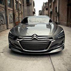 Here is the luxious #Citroën #Metropolis #ConceptCar