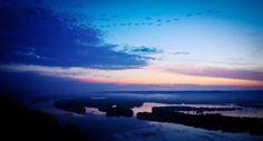 13. A breathtaking sunrise in McGregor