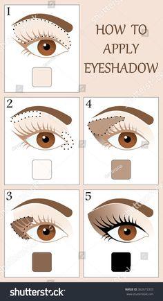 Brown Skin Makeup, Natural Eye Makeup, Eye Makeup Steps, Smokey Eye Makeup, Contour Makeup, Eyeshadow Makeup, Eye Makeup Pictures, Makeup Order, How To Apply Eyeshadow