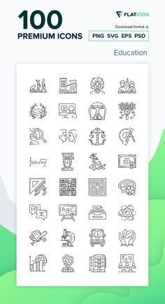 100 Education icons for personal and commercial use. Istar Design Lineal icons. Download now premium icon pack from Flaticon, the largest database of free vector icons. #Flaticon #icons #teacher #education #school #college