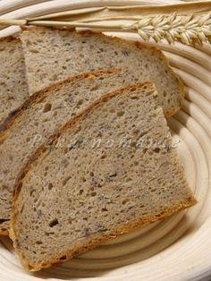 Chleba je tmavý, pórovitý, tváří se vlhce (ale není), na chuť výborný a je dost sytý.  Suroviny: 25 g pravidelně krmeného žitného kvásku 160 g vody 100 g žitné mouky celozrnné jemné 50 g pšeničné mouky celozrnné jemné - smícháme dohromady a zakryté necháme 10-14 hodin prokvasit. Zároveň uděláme záparu: 200 g pšeničné mouky…