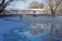 Potter's Bridge - Noblesville, IN by Indiana Wanderer, via Flickr