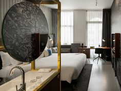 Book a room in a character hotel in AMSTERDAM: INK Hotel Amsterdam - MGallery Collection