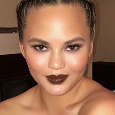 All of MATCHCo loves all of @chrissyteigen and her dreamy flawless complexion using her custom tinted hydrating formula. Makeup by the one and only - @allanface . Hair by @chadwoodhair