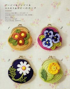 Marvelous Crochet A Shell Stitch Purse Bag Ideas. Wonderful Crochet A Shell Stitch Purse Bag Ideas. Crochet Wallet, Crochet Coin Purse, Crochet Purse Patterns, Crochet Purses, Crochet Earrings, Crochet Books, Love Crochet, Crochet Flowers, Coin Purse Pattern