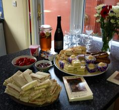 Launch party afternoon tea food fit to share the Queen's Diamond Jubilee