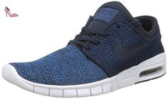 super popular 15cdc e7c8f Nike Stefan Janoski Max, Baskets Basses Homme, Bleu (Industrial Blue  Obsidian-