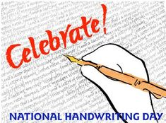 Resources and Activities for National Handwriting Day on January 23rd