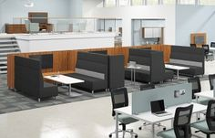 Mind Share from Allsteel - perfect for collaboration as well as for times when you need a little privacy
