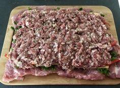 Pieczeń świąteczna - Blog z apetytem Kielbasa, Polish Recipes, Charcuterie, Food Design, Pork Recipes, Recipies, Food Inspiration, Food And Drink, Homemade