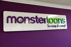 We recognize that our people, culture, and clients contribute equal parts to our success. Our staff is our greatest asset… Contact for more info: www.monsterloans.com