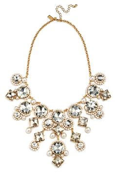 Rent Such a Charmer Necklace by kate spade new york accessories for $50 only at Rent the Runway.