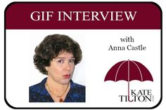 Gif Interview with Anna Castle | Kate Tilton, Connecting Authors & Readers