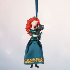 Add a dash of adventure to Christmas with this stunning Merida decoration. Inspired by Brave, it shows the princess with one of her brothers transformed into a bear.
