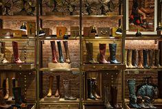 a design & concept firm Store Window Displays, Shoe Display, Restaurant Interior Design, Wayfinding Signage, Pierre Hardy, Retail Design, Joinery, Store Design, Visual Merchandising