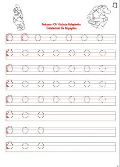 1. Sınıf Düzenli Çizgi Çalışmaları School Lessons, Kindergarten Worksheets, Handwriting, Alphabet, Homeschool, Activities, How To Plan, Fine Motor, Teaching