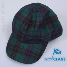 Davidson Tartan Baseball Cap. Free Worldwide Shipping Available