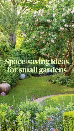 Small Courtyard Gardens, Small Gardens, Back Gardens, Outdoor Gardens, Small Backyard Design, Small Backyard Landscaping, Landscaping Ideas, Backyard Ideas, Backyard Patio
