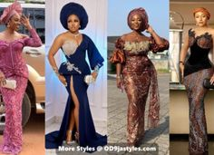 10 PICTURES: Lace Gown Styles for Your Next Owambe