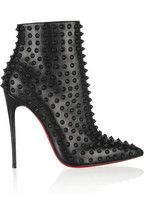 Christian LouboutinSnakilta 120 studded leather ankle boots