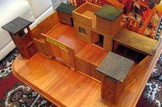 dřevěná pevnost indiáni NDR | Aukro