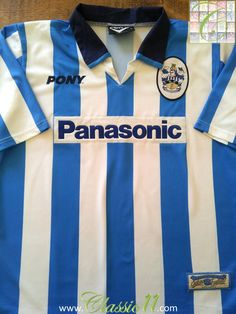 Relive Huddersfield Town's 1997/1998 season with this vintage Pony home football shirt.