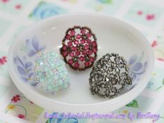 bead_tutorial: [Tutorial] Candy Ring  want to try and make this bigger to use for napkin rings