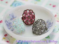 Tutorial bead ring, bead patterns, candi, beadtutori, beaded rings, beaded earrings, beading tutorial, bead tutori, bead jewelry