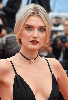 Berry lip chill in the front, plait party in the back – how Lily Donaldson won Cannes