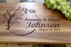 Hey, I found this really awesome Etsy listing at https://www.etsy.com/listing/231813667/personalized-engraved-cutting-board