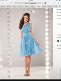 B2 by Jasmine bridesmaid dress in Night Blue
