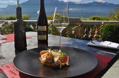 Autumn menu - enjoy a delicious lunch on our terrace! Switzerland, Terrace, Menu, Lunch, Restaurant, Autumn, Bar, Table Decorations, Home Decor