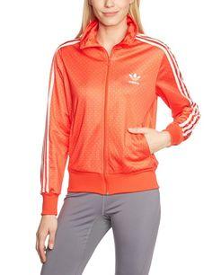 Günstig: adidas Damen Trainingsjacke Firebird Graphic