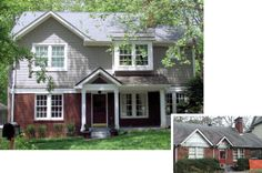 second floor additions before and after | Inside, the second floor addition provides this growing family with ...